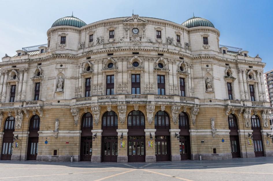 Teatro Arriaga en Bilbao - Arriaga antzokia Bilbon