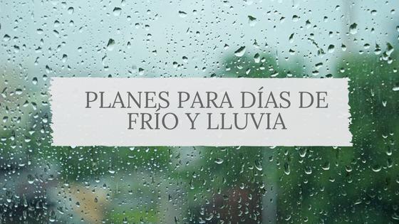Planes días de lluvia y frío Bizkaia