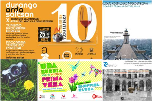 Planes qué hacer en Bilbao y Bizkaia este fin de semana