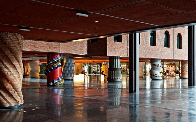 Visitas guiadas Azkuna Zentroa, Bilbao. Arquitectura