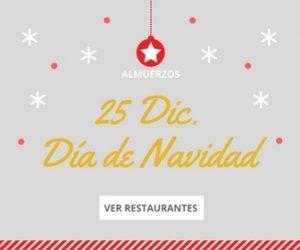 Restaurantes almuerzo Navidad Bilbao Bizkaia