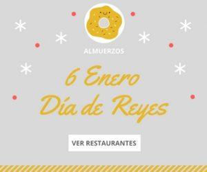 Restaurantes comida día de reyes en Bilbao Bizkaia