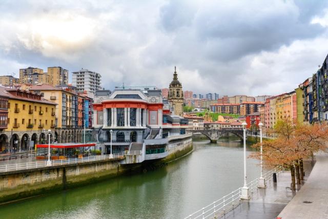 Erriberako merkatua Bilbon - Mercado de La Ribera en Bilbao