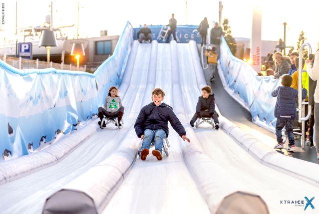 Planes navidad en Bilbao - Pista hielo patinaje y toboganes