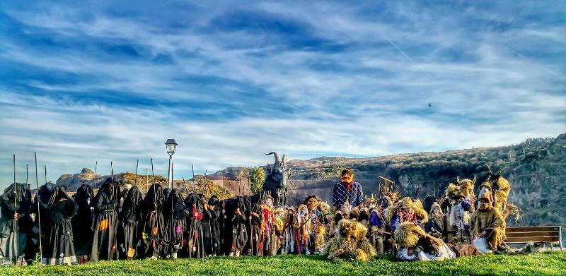 Carnavales rurales mineros de Abanto Bizkaia