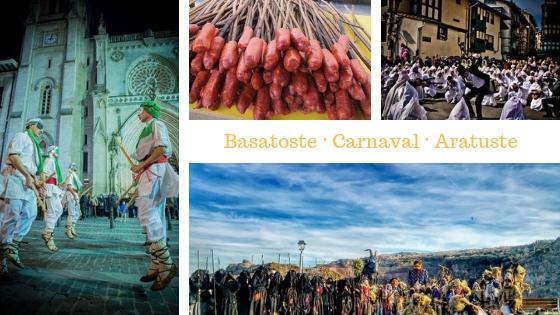Aratusteak los carnavales tradicionales en Bizkaia y planes de carnaval en Bilbao