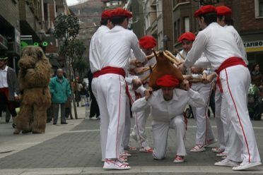Danzas tradicionales de los carnavales de Markina en Bizkaia