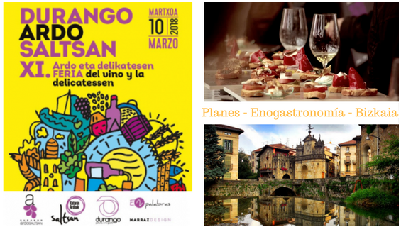 feria vino_Durango Ardo Saltsan 2018_planes gastronómicos Bizkaia