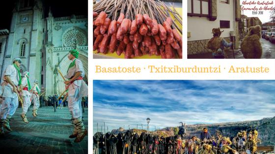 Planes para conocer los Carnavales tradicionales en Bizkaia - Aratusteak, basatoste, txitxiburduntzi y carnavales mineros