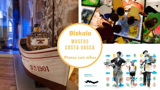 Planes con niños en Bizkaia en el mes de los museos de la costa vasca