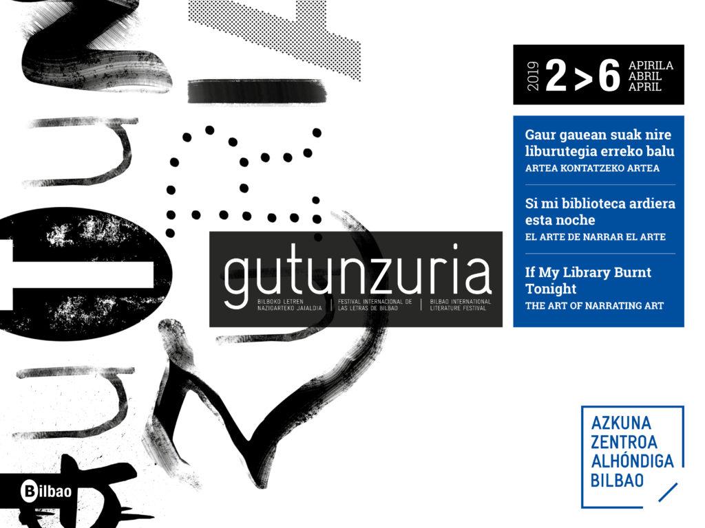 Gutun Zuria en Azkuna Zentroa, Bilbao