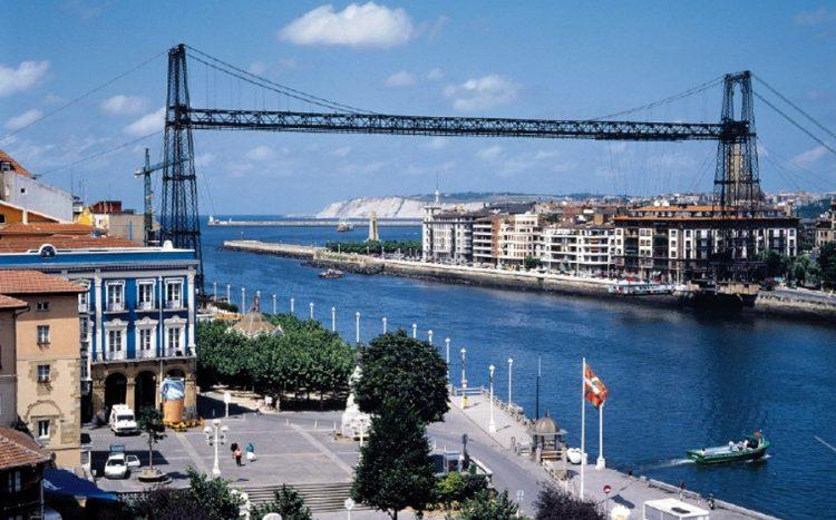 Puente Bizkaia o Puente Colgante de Portugalete