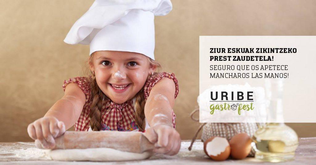 Actividades y talleres para niños en Uribe Gastrofest 2018 - Mungia - Bizkaia
