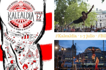 Kalealdia: Espectáculos y teatro de calle gratis en Bilbao en julio