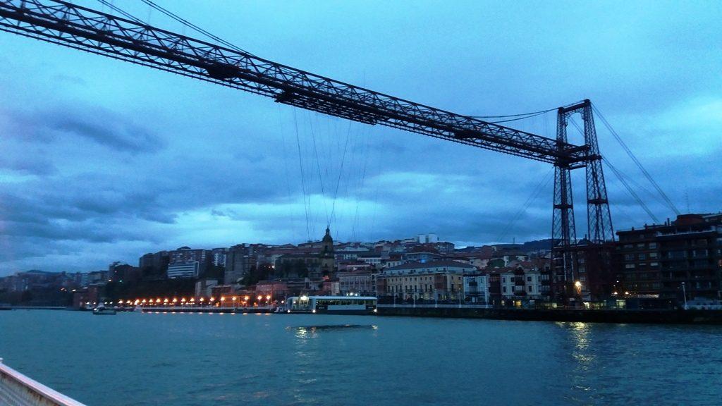 Punte Bizkaia o Puente Colgante