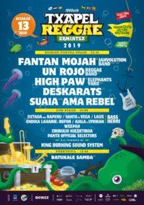 Festival de musica reggae con conciertos gratis en Arminza, Bizkaia