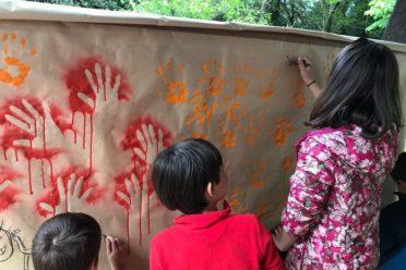 Talleres infantiles en las cuevas de Santimamiñe