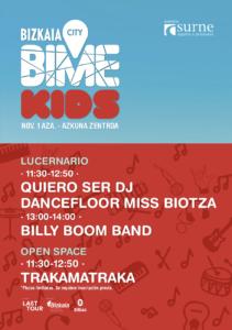 Planes con niños - actividades y conciertos gratis en familia - BIME City Bilbao