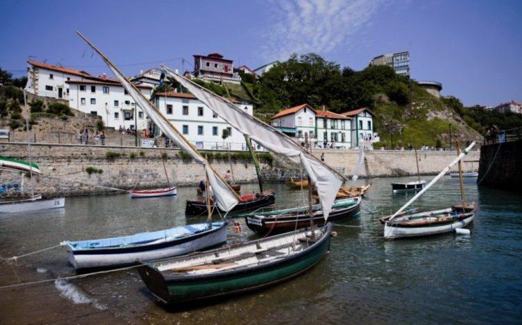 Puerto viejo de Algorta en Getxo