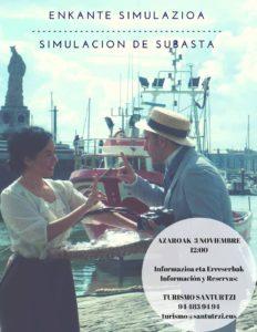 planes en Santurtzi - visita subasta pescado