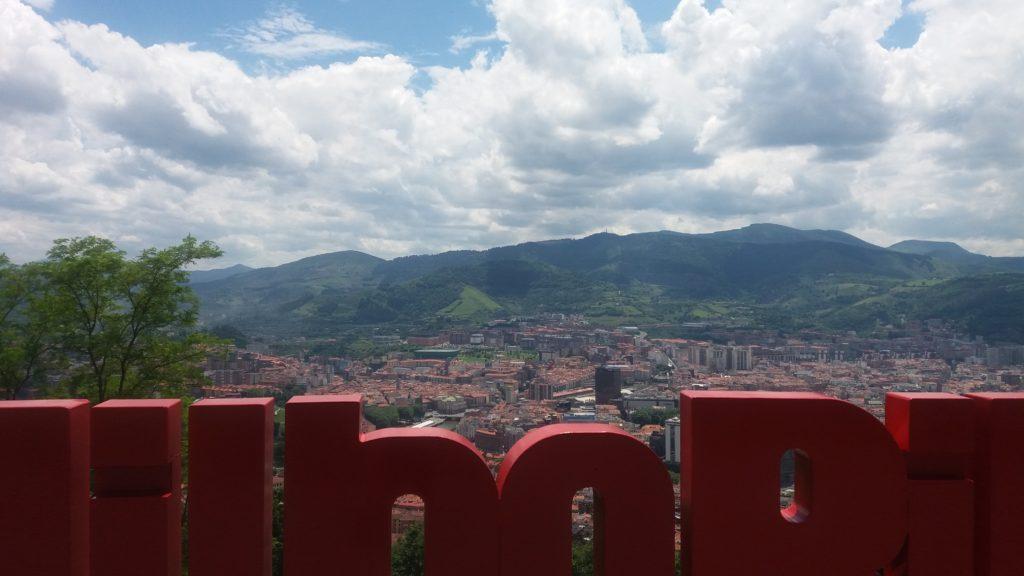 Artxandako behatokia - Mirador de Artxanda Bilbao