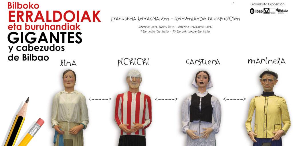 Exposición Gigantes en el Museo Vasco de Bilbao